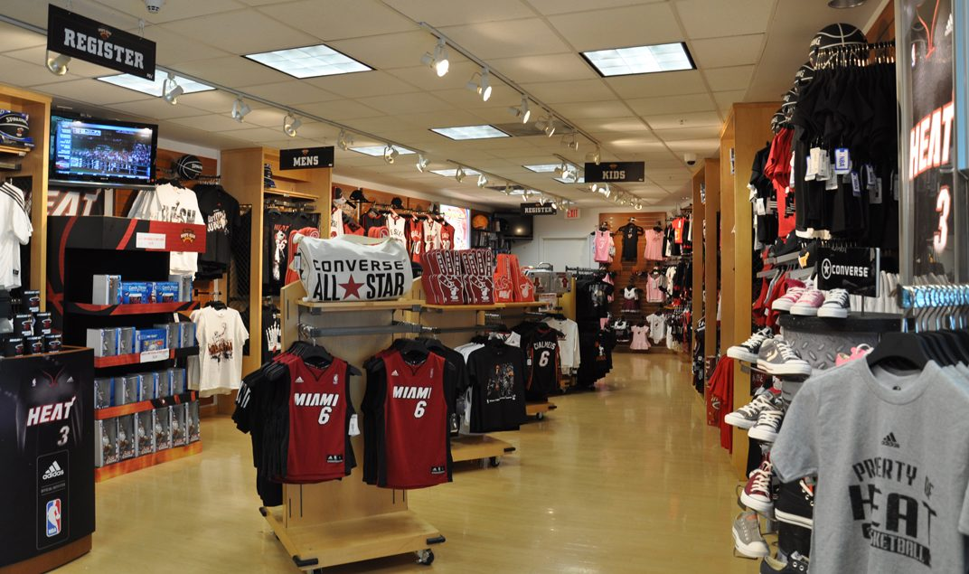 American Airlines Arena Team Store