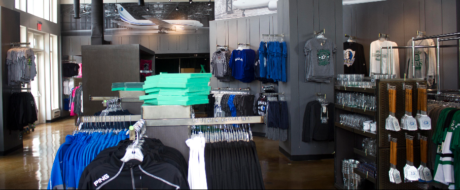 American Airlines Center Team Store