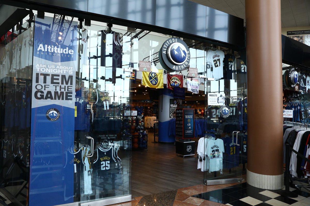 Ball Arena Team Store