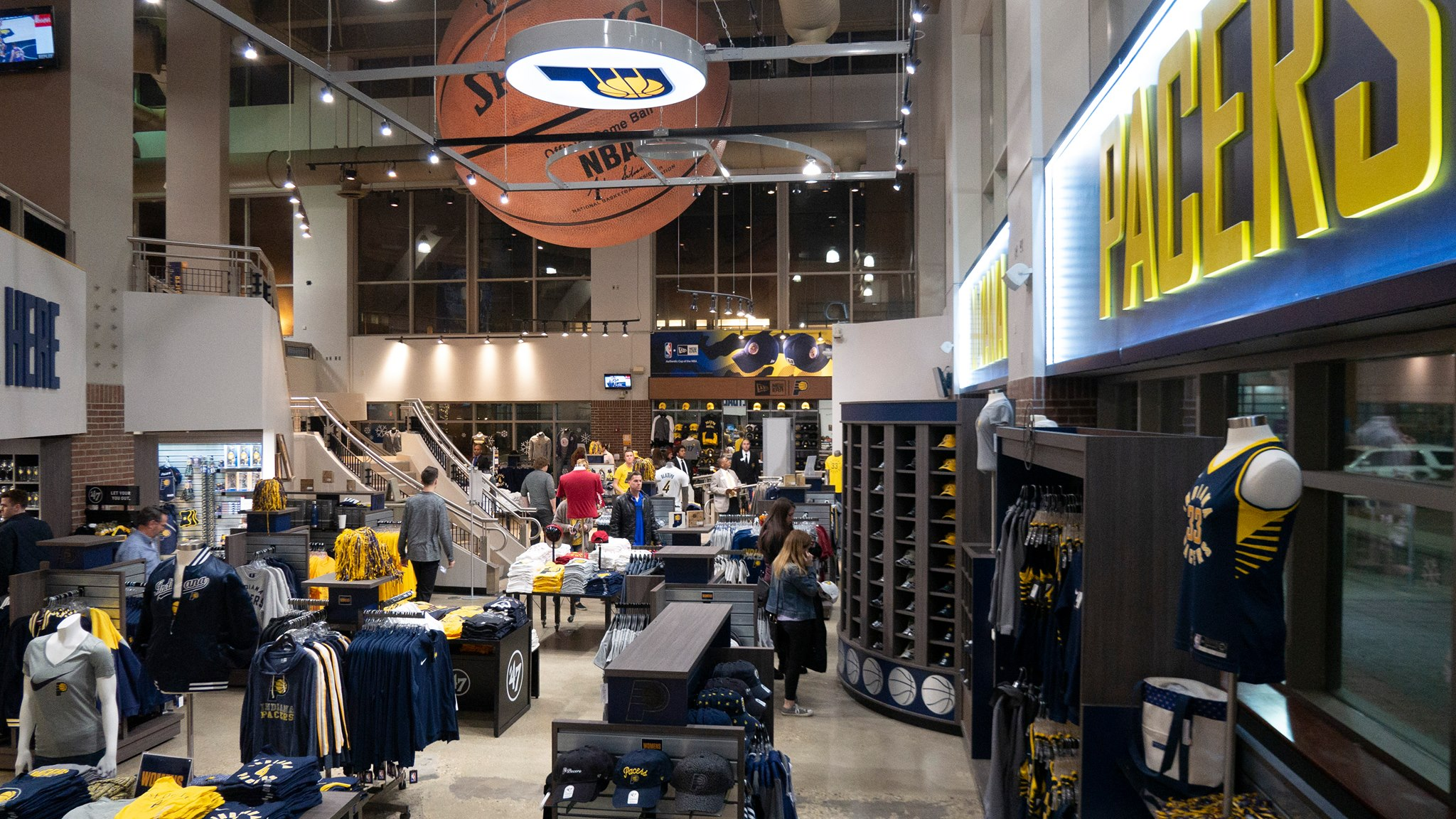 Bankers Life Fieldhouse Team Store