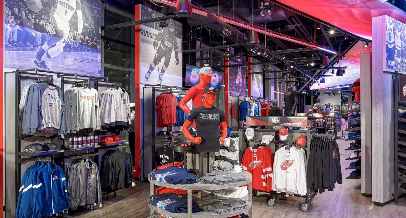 Little Caesars Arena Team Store