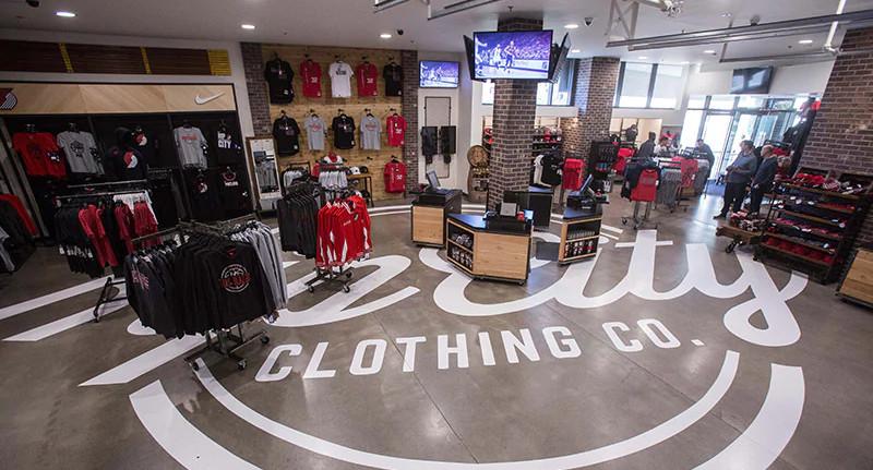 Moda Center Team Store