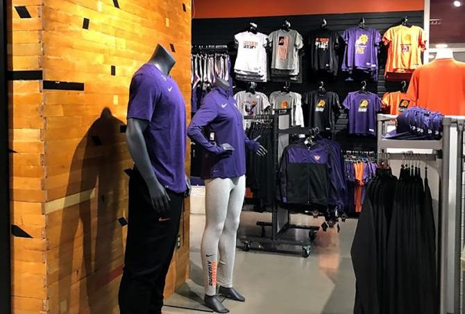 Phoenix Suns Arena Team Store