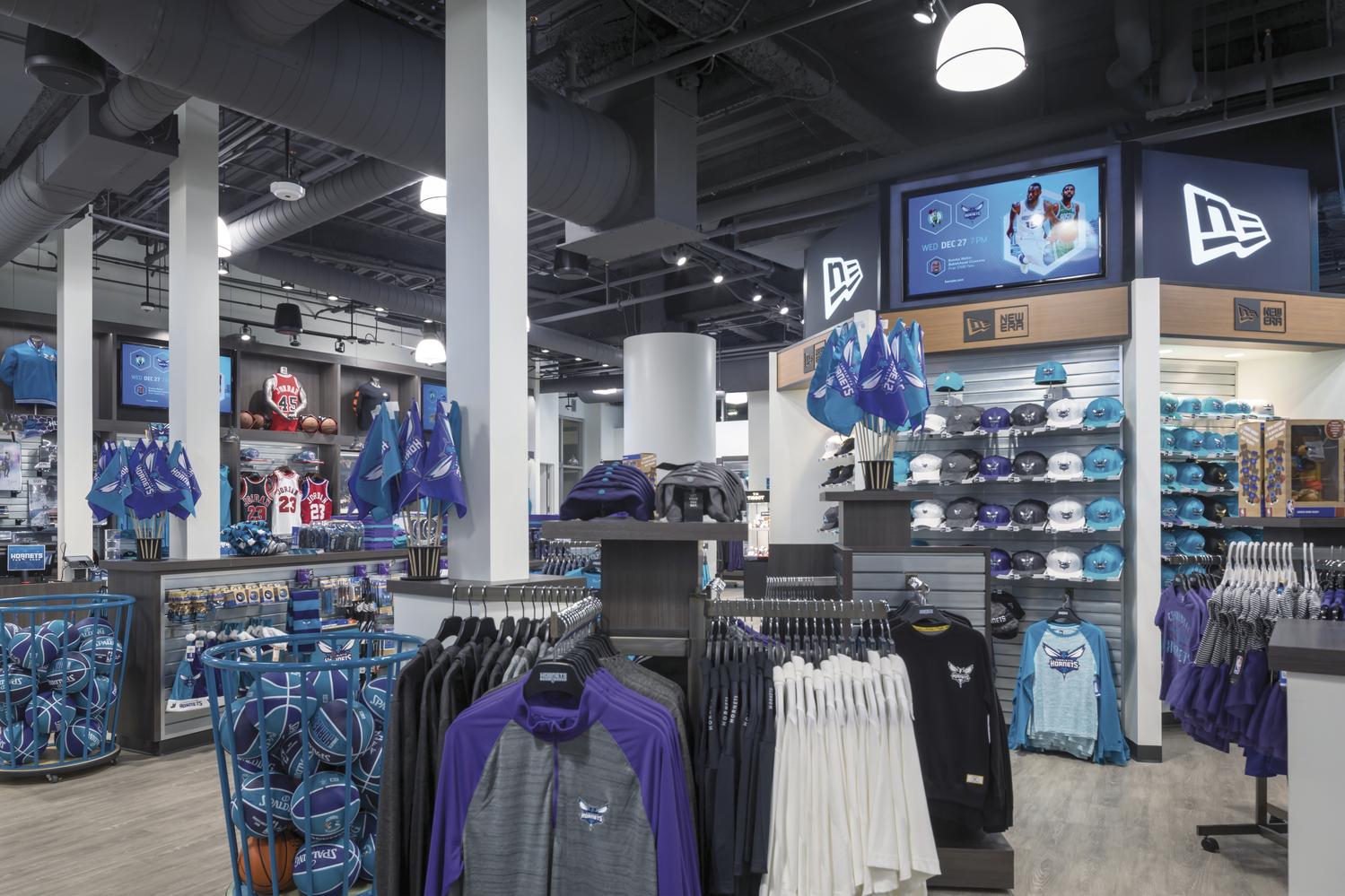 Spectrum Center Team Store