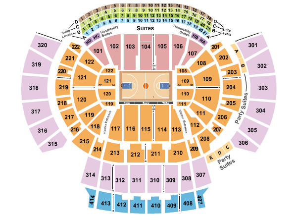 State Farm Arena Seating Chart