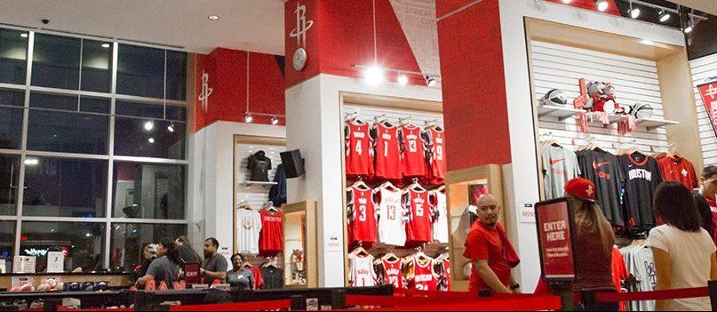 Toyota Center Team Store