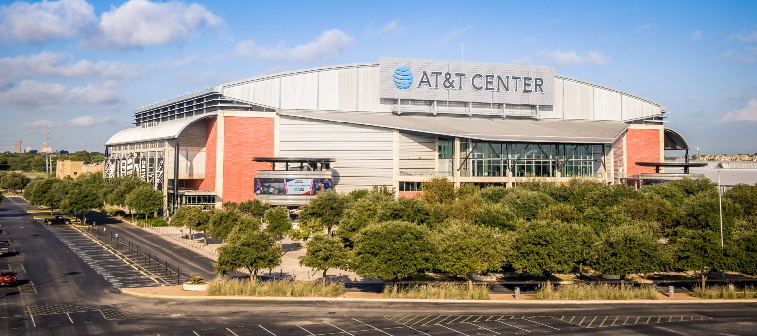san antonio spurs - at&t center guide | basketball tripper