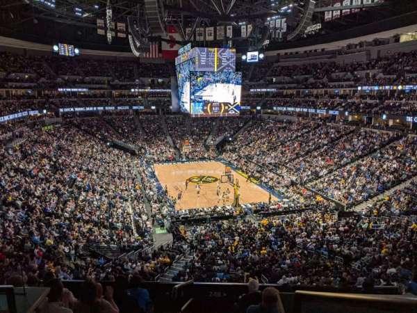 Ball Arena Interior