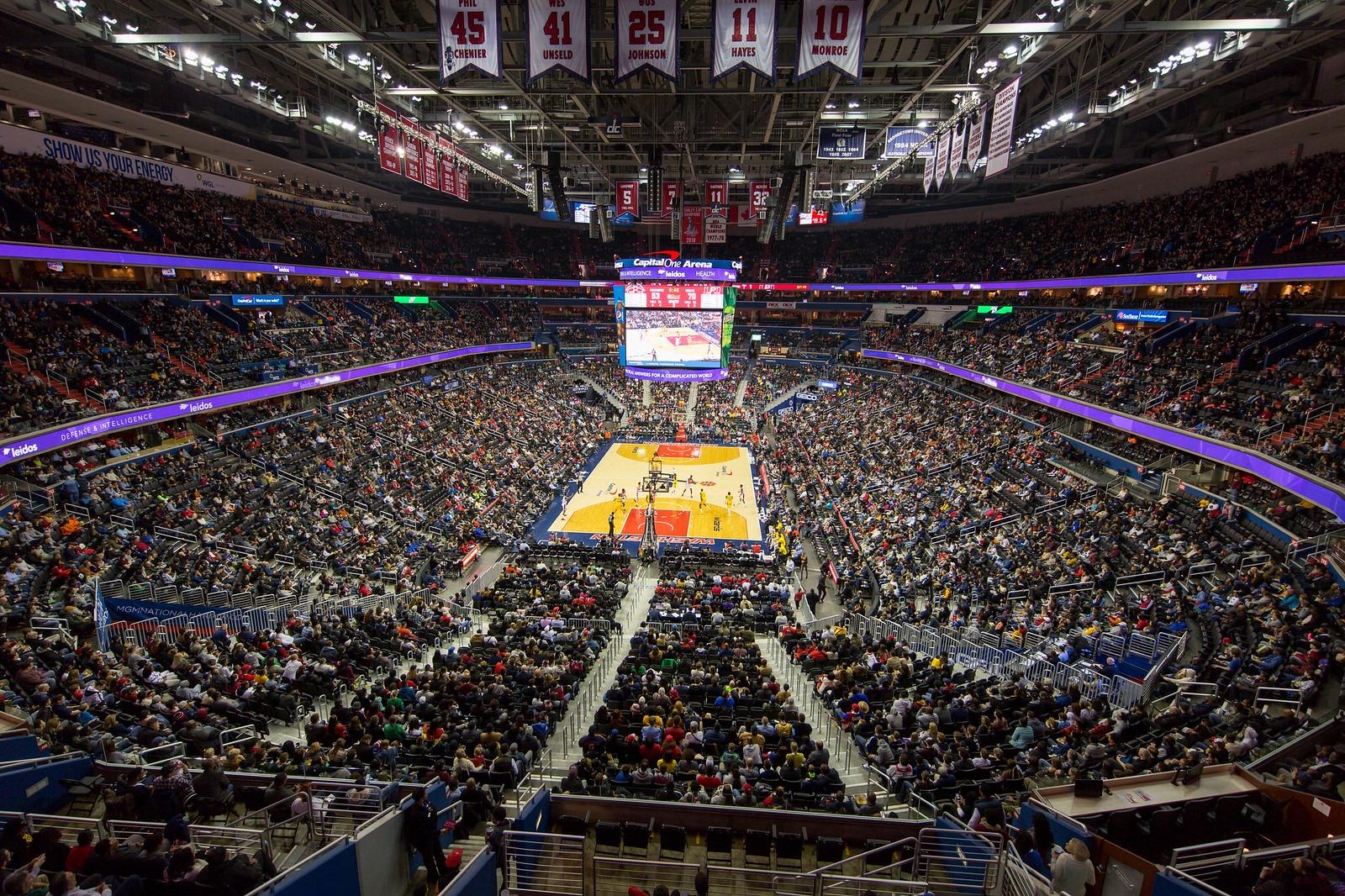 Capital One Arena Interior