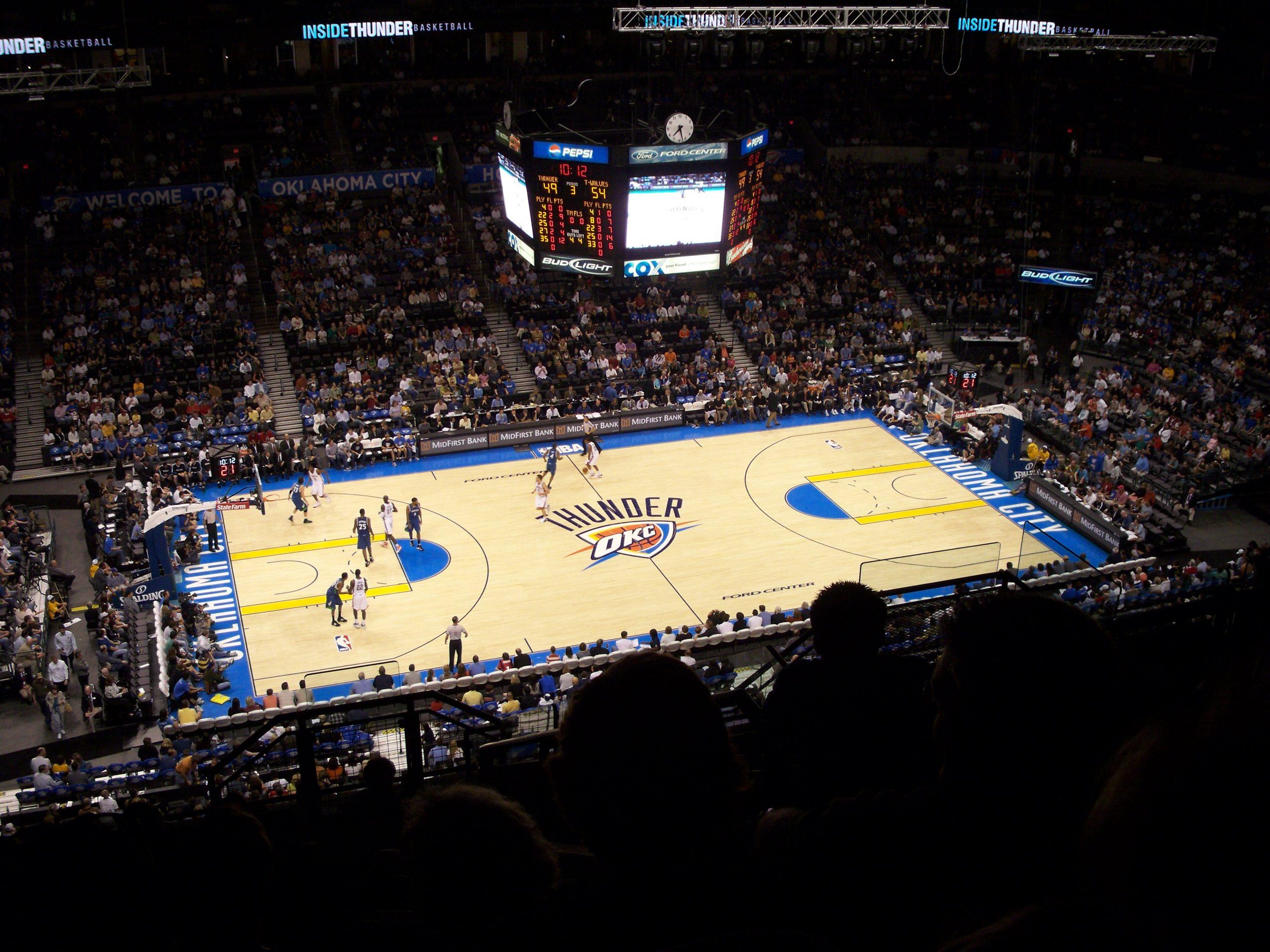 Chesapeake Energy Arena Interior