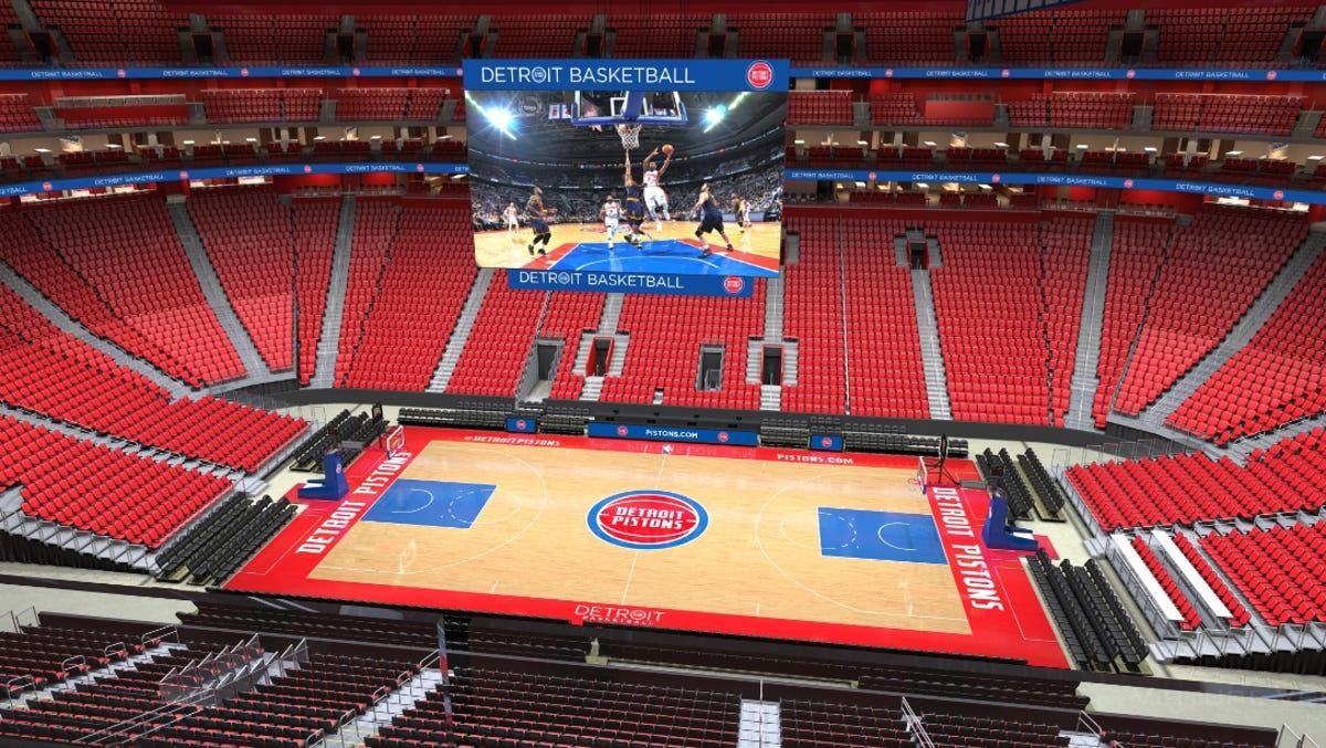 Little Caesars Arena Interior