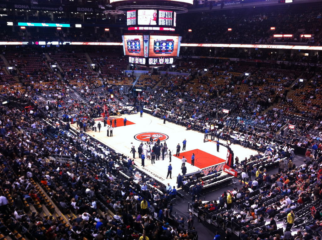 Scotiabank Arena Interior