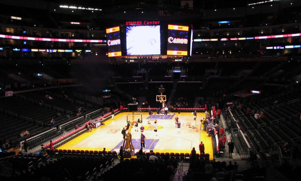 Staples Center Interior