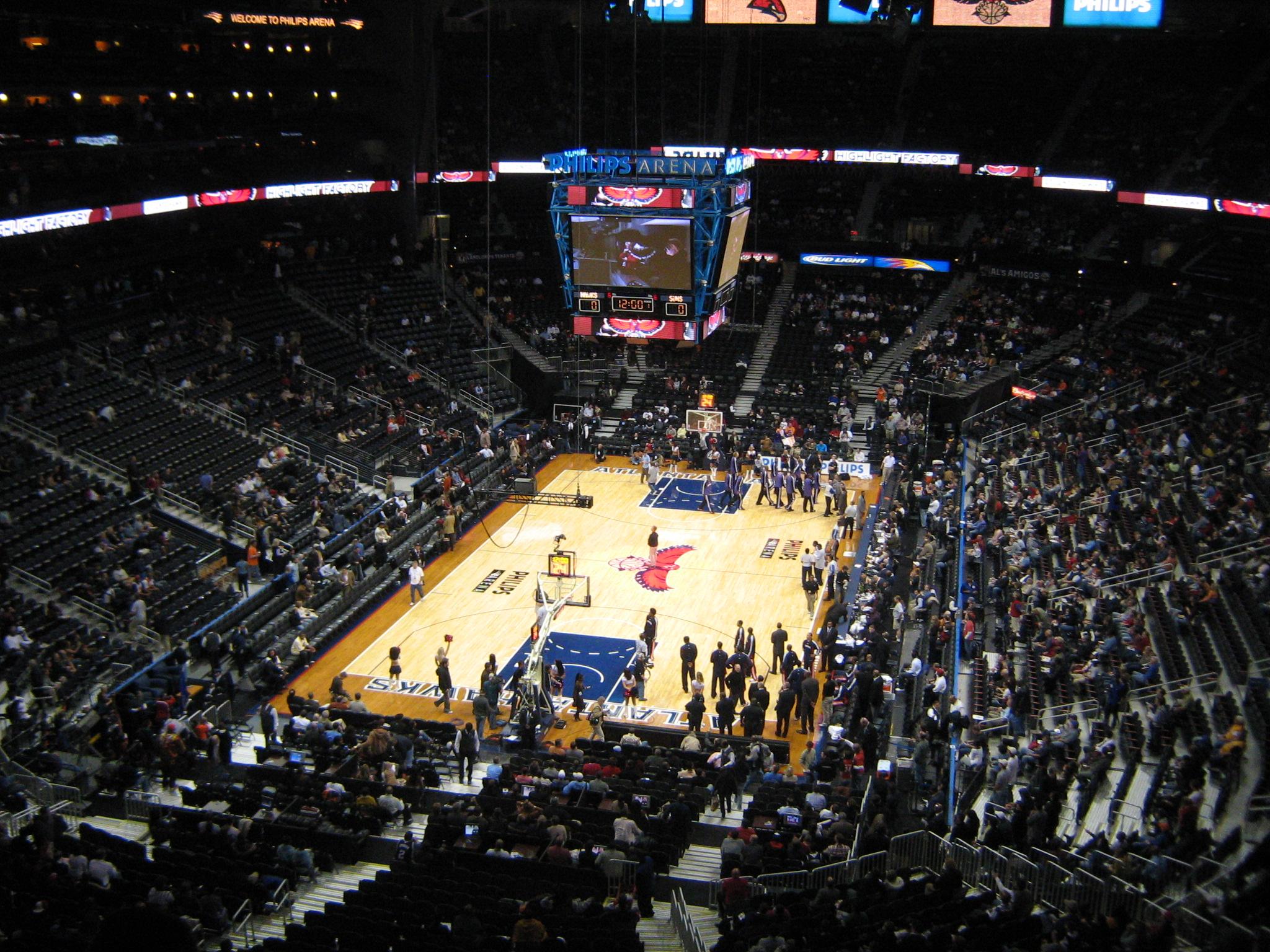 State Farm Arena Interior