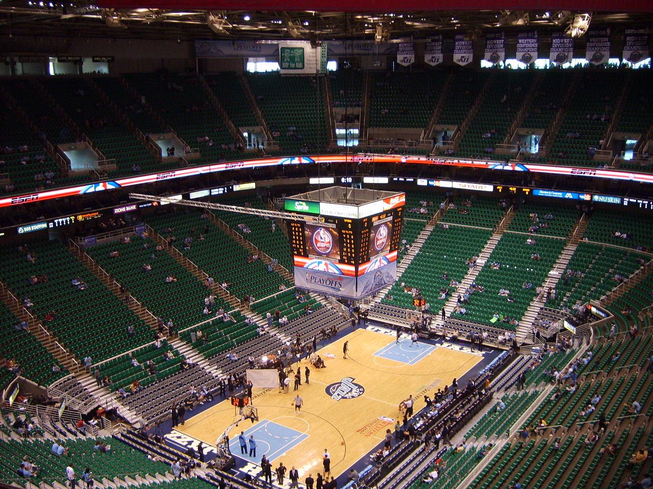 Vivint Smart Home Arena Interior